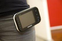 Samsung SEW 3036 Babyphone Praxistest - Handhabung